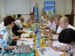 Совещание председателей региональных организаций Профсоюза Сибирского Федерального округа